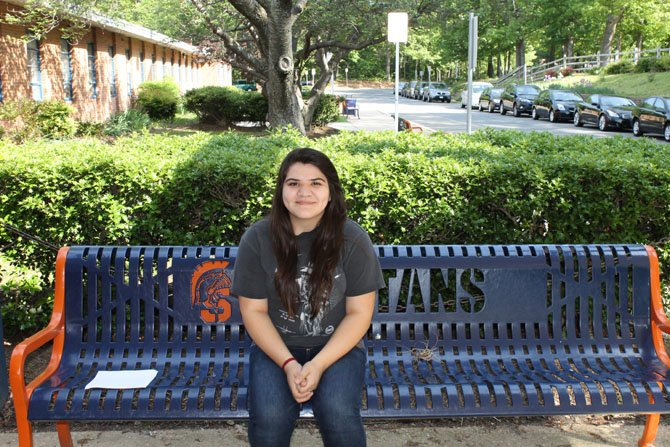 Natalia Rivero Nogales, a senior at West Springfield High School, has been recognized for her hard work by being awarded a $1,000 scholarship from the Fairfax County Hispanic Leadership Alliance.
