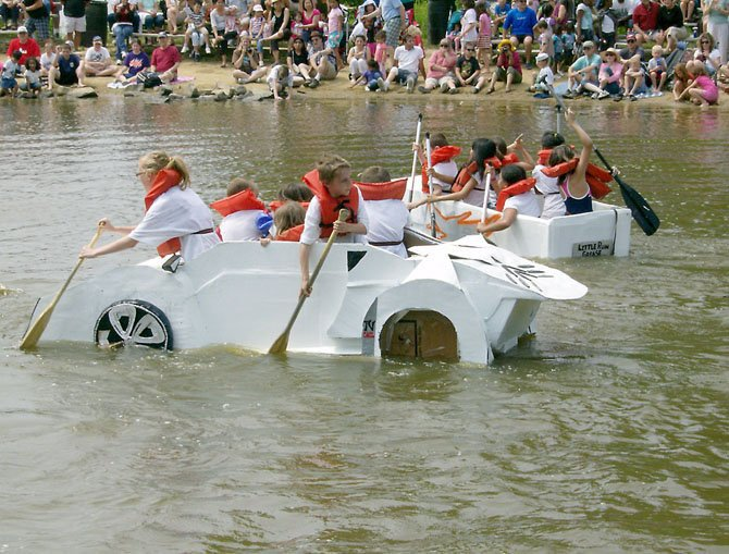 This year's Springfield Days Cardboard Boat Regatta will be June 1, 2 p.m. at Lake Accotink Park. The event, now in its 25th year, is part of Springfield Days.