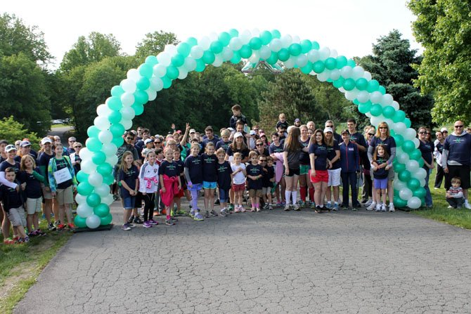 This year's Fragile X walk raised over $45,000. The group's goal was $50,000 and is hoping to still reach that number.