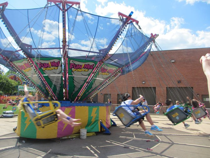 Young kids, older kids and teens had more than 20 amusement rides to choose from.