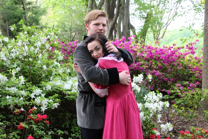 Archibald Craven, Alex Stone, and Mary Lennox, played by Grace Myers, find home in garden