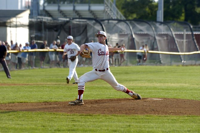 Oakton senior Tommy Lopez earned a complete-game victory against Chantilly in the Conference 5 championship game on Monday.