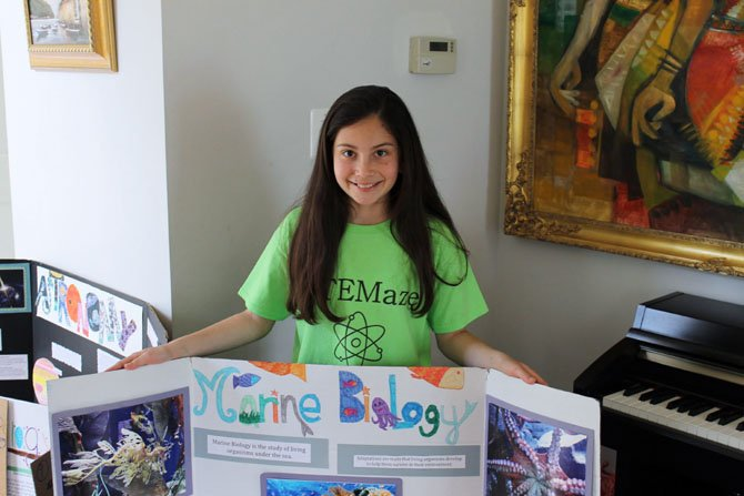 Summer Keating, a sixth-grader at Silverbrook Elementary School, has started a group called STEMaze to promote excitement in learning STEM subjects.