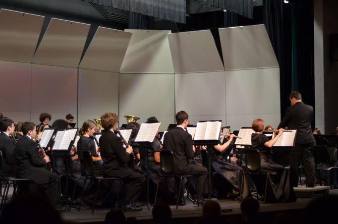 The South Lakes symphonic band preformed their Spring Concert on May 29.