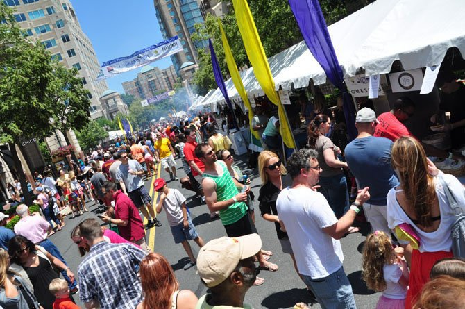 Nearly 70,000 people came to last year's Taste of Reston held at Reston Town Center.