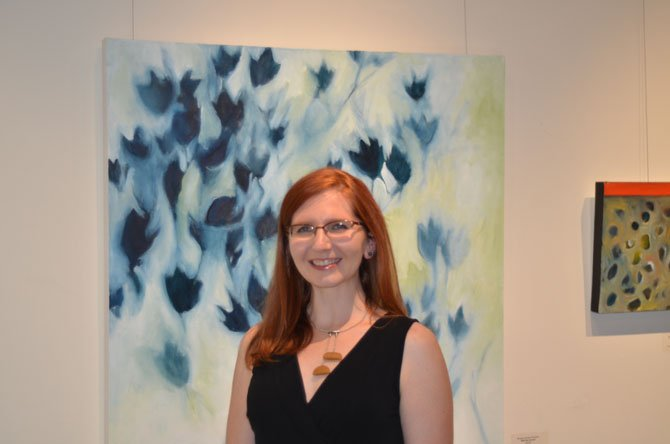 Painter Morgan Johnson Norwood, resident of Reston, has a painting exhibit on display at ArtSpace Herndon until June 29, 2014.