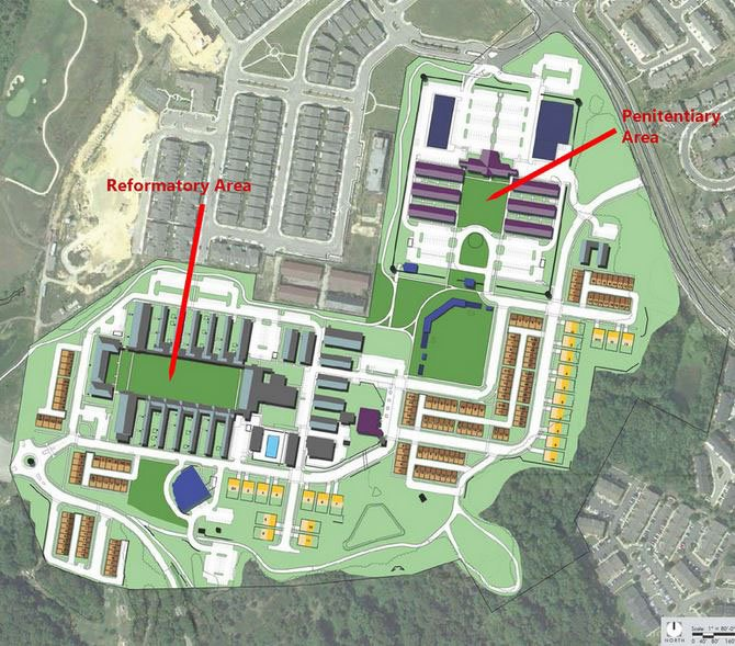 Housing and Restaurants Coming to Prison Site