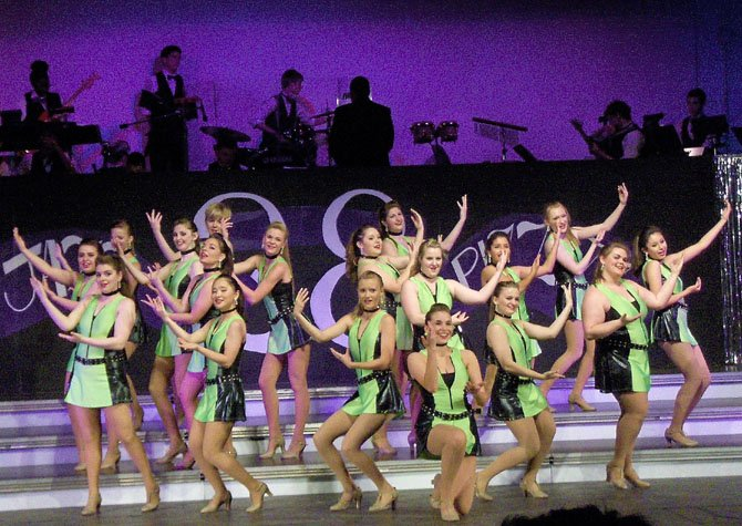 "Chantilly ShowStoppers perform ""Wings"" during last year's Jazz & Pizzazz."