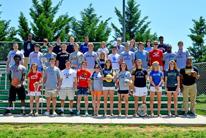Thirty-five members of the St. Stephen's & St. Agnes School Class of 2014 — 29 percent of the class — will be continuing on with their sports at college or university this fall. They will be playing at NCAA Division I, II and III schools, representing 13 sports (baseball, basketball, football, golf, ice hockey, men's lacrosse, women's lacrosse, men's soccer, women's soccer, softball, swimming, tennis, and track.