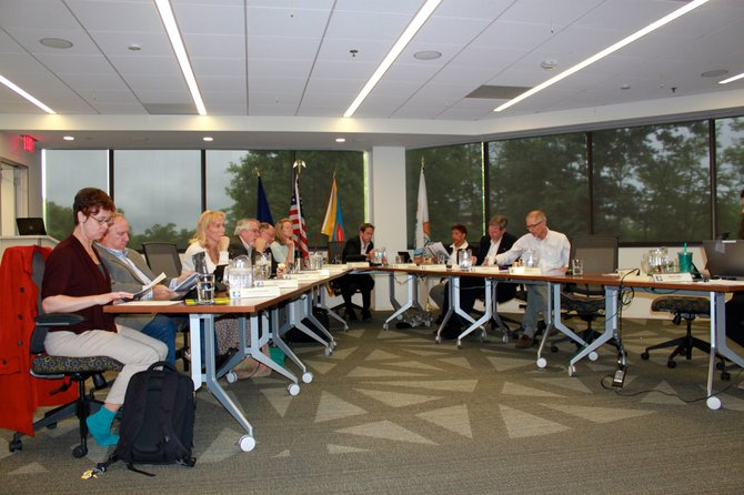 The Reston Association Board of Directors approved bow hunting on certain Sourwood Lane properties to manage the deer population.