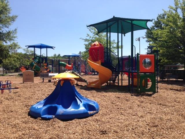 The new playground at Herndon's Bready Park. Herndon Community Center is located at 814 Ferndale Avenue in Herndon.