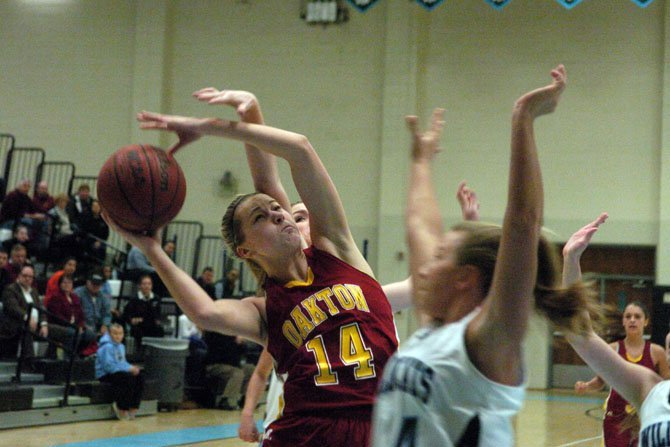 Karlie Cronin is a two-sport standout at Oakton High School.