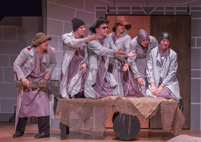 """He's Not Dead Yet"" by the ""Spamalot"" Ensemble."