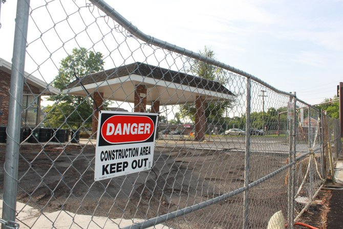 A gasoline leak at the old Exxon site has lead to multiple water tests over the last few years.