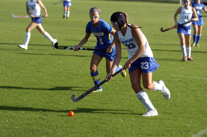South Lakes senior Megan Greatorex (23) plays field hockey and lacrosse for the Seahawks.