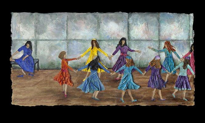 Joyful Dancing by Ronni Jolles.