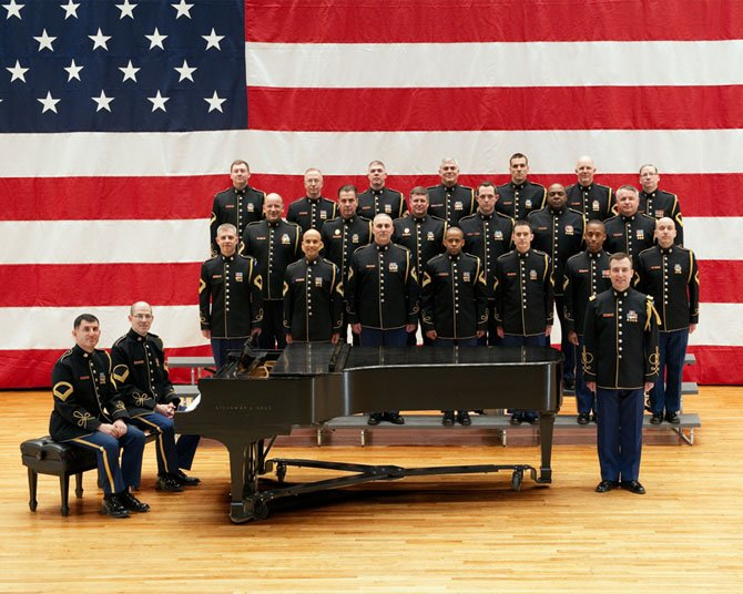 The U.S. Army Chorus will perform at Westwood Baptist Church, 8200 Old Keene Mill Road, Springfield at 7 p.m. on Saturday, Sept. 20.