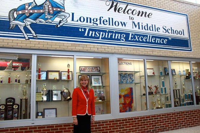 Longfellow Middle School Principal Carole Kihm named Virginia Outstanding Middle School Principal.