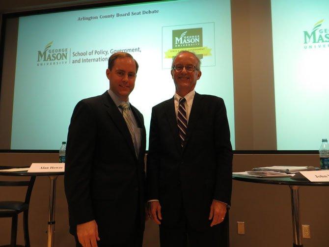 Alan Howze (Democrat), left, and John Vihstadt (Independent)