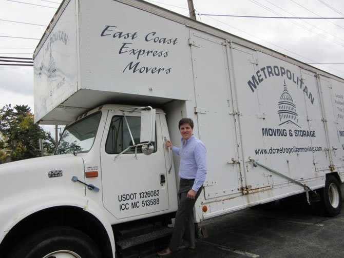 Jonathan Neal of Metropolitan Moving & Storage