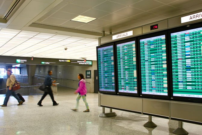 Dulles International Airport was selected as one of five airports in the nation to begin screening travelers arriving from African nations affected by Ebola.