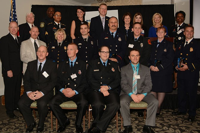 Outstanding local public safety and first responders were recognized at the 7th Annual Police & Fire Fighters Tribute on Friday, Oct. 24, at Mount Vernon Country Club.