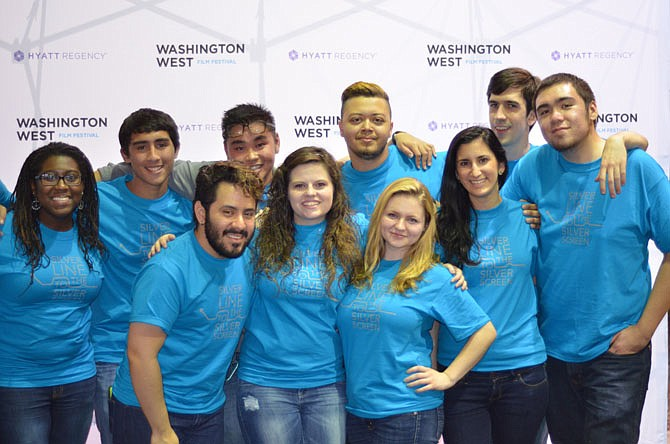 Assisting the 2014 Washington West Film Festival were over 120 volunteers, including students from local colleges such as George Mason University.