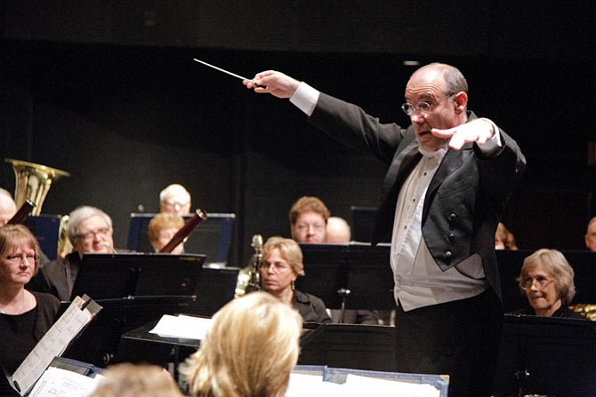 Robert Pouliot, conductor, of Springfield.