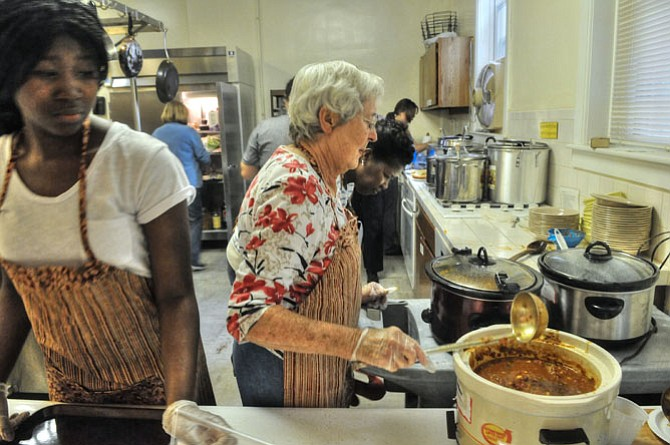Fairfax County Soup Kitchen