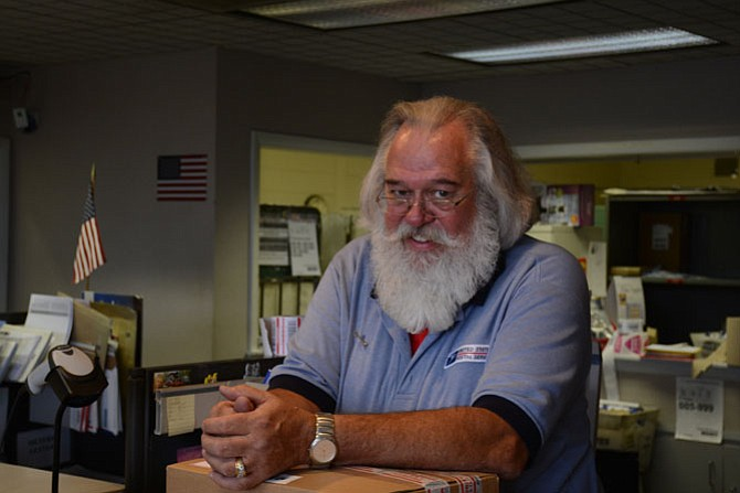 Tom Bailey retired Oct. 30 after 30 years with the U.S. Post Office.
