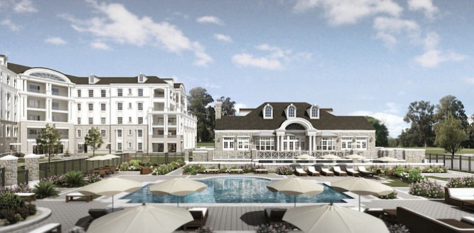 Quarry Springs features two- and three-bedroom residences and offers private garage-to-foyer elevators.