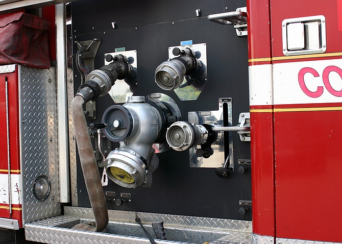 Fairfax County firefighters and fire responders responded to a community incident.