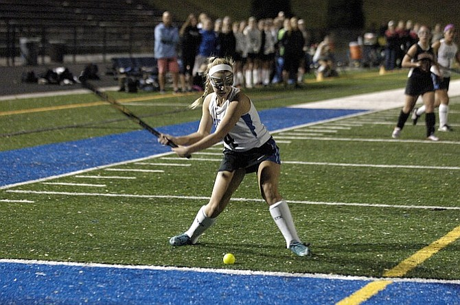 Charlotte earned first-team all-region honors while helping the Fairfax field hockey team win its first region title since 1993.