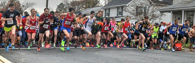 More than 5,000 runners registered for the annual Turkey Trot in Alexandria.
