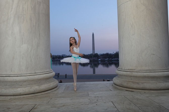 Tillie Glatz of Fairfax Station will perform as Clara in the Ballet West production of The Nutcracker.