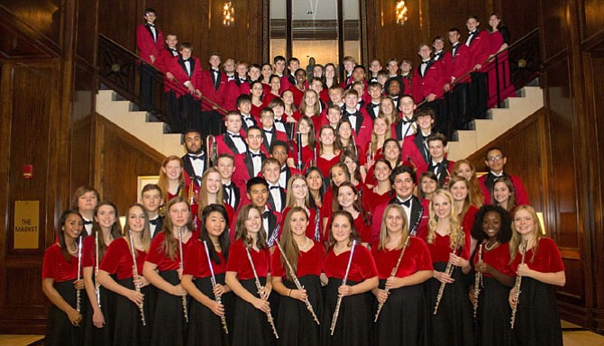 Herndon High Wind Ensemble was one of only three high school bands selected to perform for over 400 music educators from across the state of Virginia.