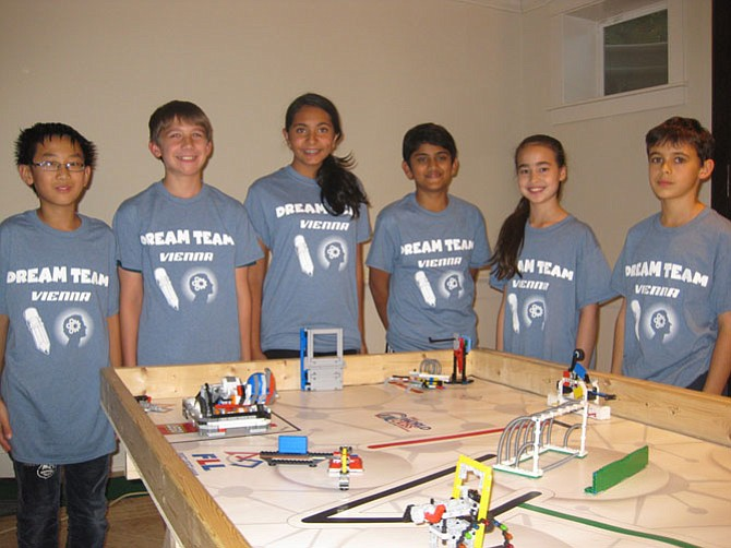 From left - Dream Team members David Pan, Christopher Gardner, Gwen Setia, Shaurya Saran, Christina Luckett and Max Golub.