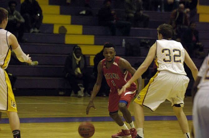 Andrew Hill led T.C. Williams with 27 points during a win against Lake Braddock on Jan. 13.