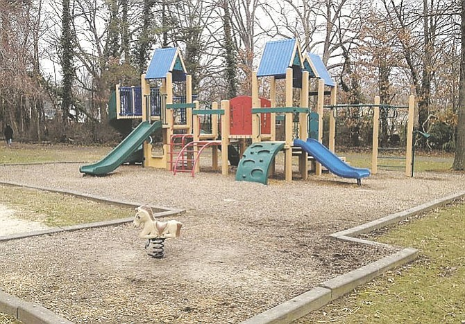 The playground equipment at Kutner Park on Jermantown Road needs replacing.