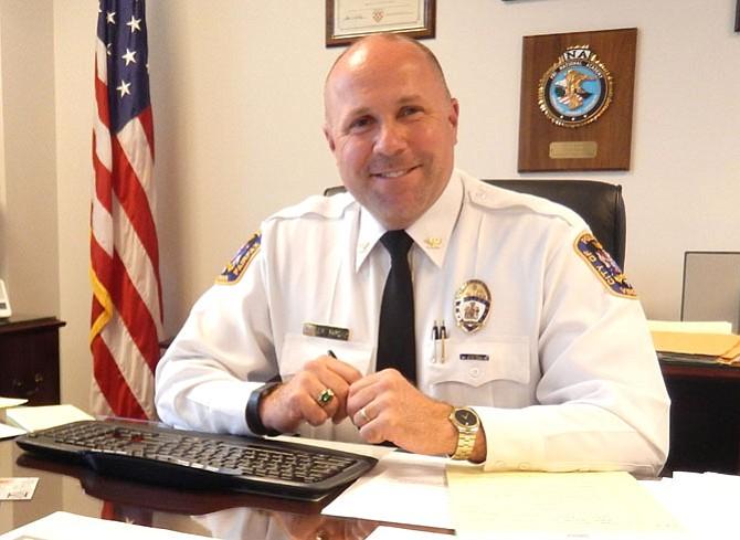 Fairfax City Police Chief Carl Pardiny.
