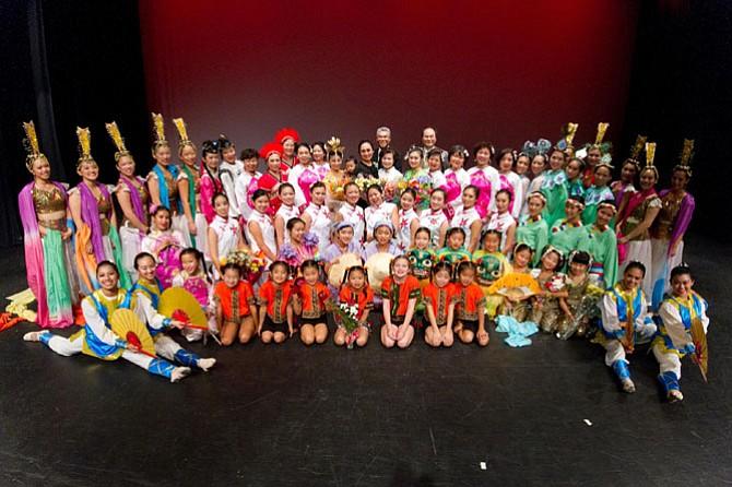 Mason District based Fairfax Chinese Dance Troupe.