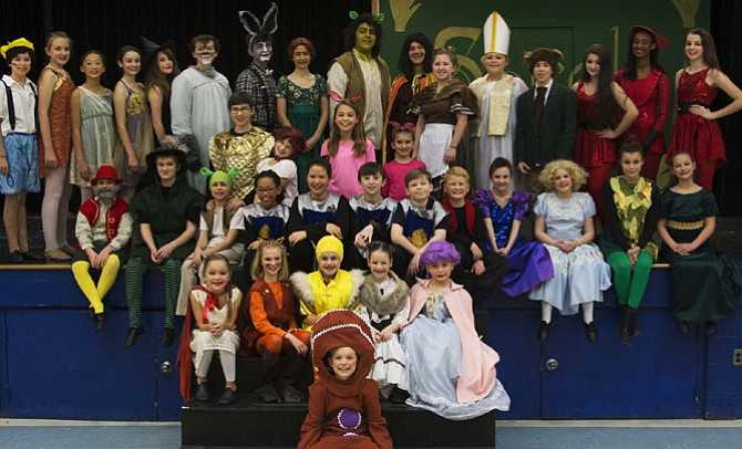 The 2015 cast of Aldersgate Church Community Theatre presents