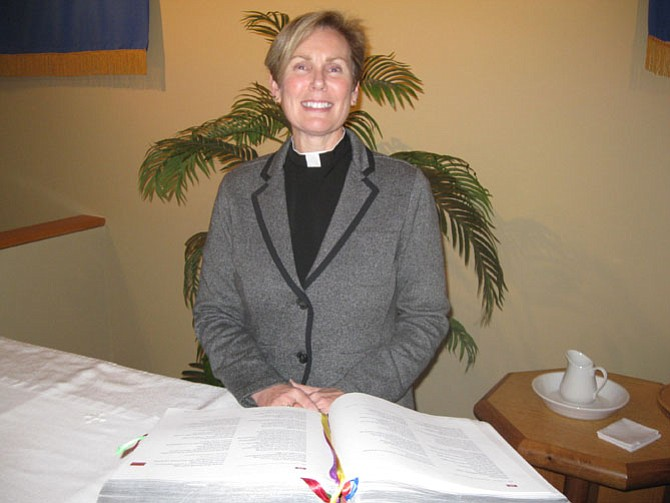 Lynn Miller is the new senior pastor of King of Kings Lutheran Church in Chantilly.
