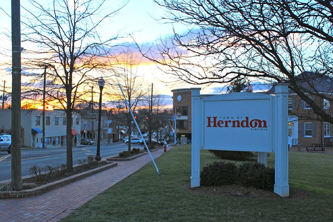 Historic downtown Herndon will be the town council's number one priority this year.