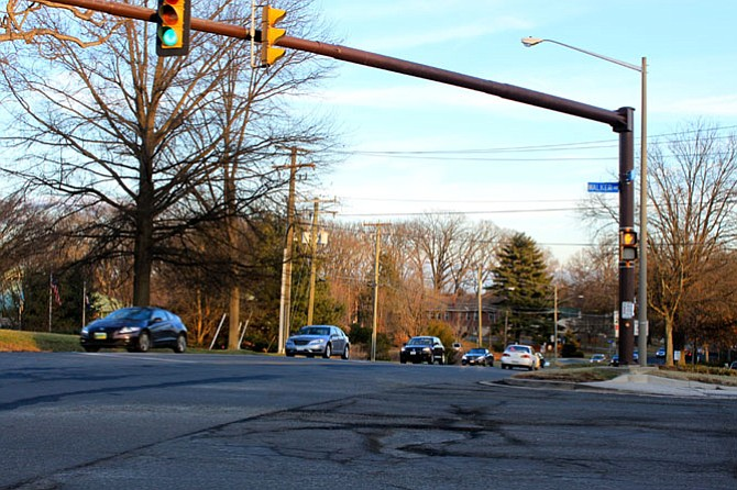 Walker Road is one of the intersections where Georgetown Pike needs to still be repaved.