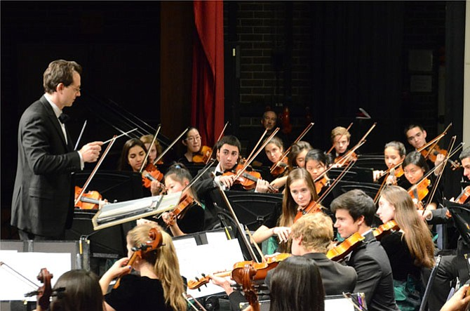 In preparation for their concert at Carnegie Hall, Dr. Scott McCormick will conduct the Langley HS Orchestra in a concert on Feb. 17.