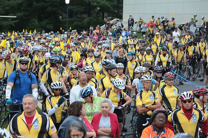 The Ride to Conquer Cancer raises funds for the Johns Hopkins Kimmel Cancer Center, Sibley Memorial Hospital and Suburban Hospital.