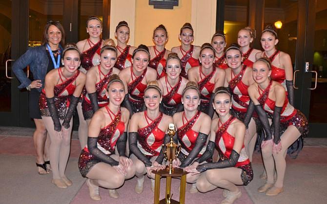 The Herndon High School Varsity Dance Team.