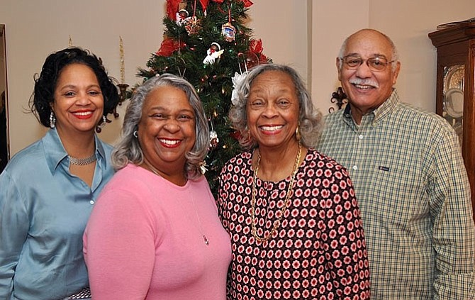 John and BeaTaylor, right, will be honored along with daughters Karen Taylor Chandler and Rhonda Taylor, at the Senior Services of Alexandria Generation to Generation Gala Feb. 28 at the Hilton Mark Center.