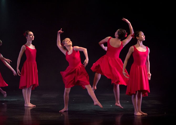 "The Classical Ballet Theatre (CBT) presented ""An Evening with Classical Ballet Theatre"" on Friday, Feb. 13 at Reston Community Center. Dancers performed the Spanish themed Allegrias."